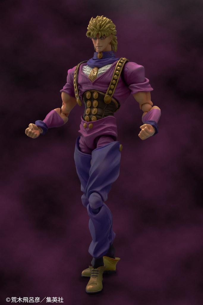 超像可動《JOJO的奇妙冒險 幻影血脈》迪奧·布蘭度可動人偶 重現只剩一顆頭的獵奇造型!