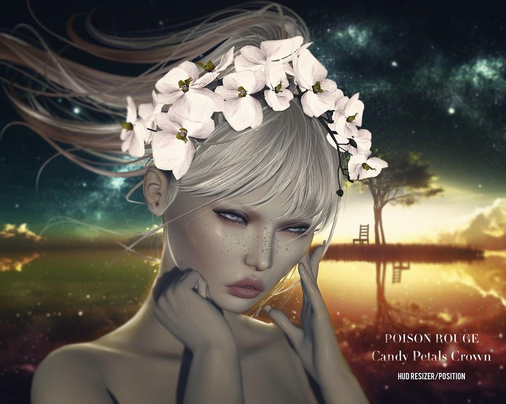POISON ROUGE Candy Petals Crown ♥