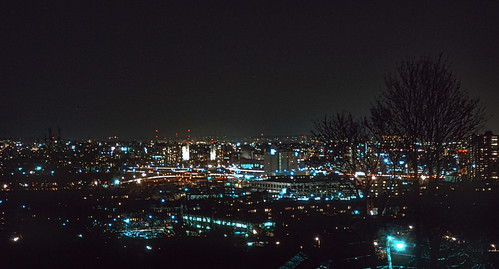 Allston & Cambridge at Night