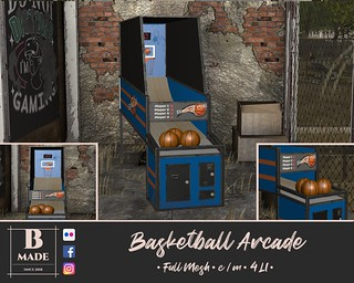 Basketball Acarde @ The Mainstore