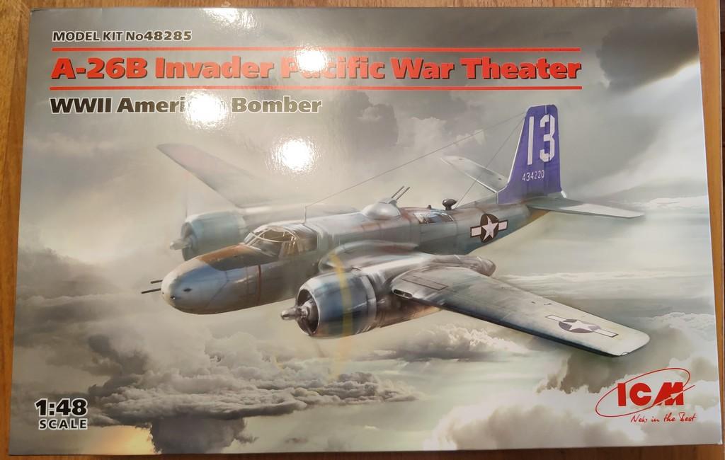 Douglas A-26B Invader Pacific Theater (ICM 1/48) 50769531268_856db6d266_o