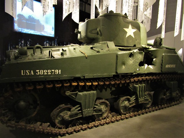 Museum in Belgian Ardennes about the Battle of the Bulge