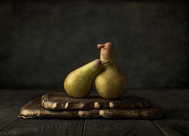 Pears being pears 🍐