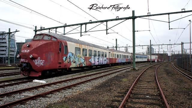 Stichting TEE  ex NS1002-4/ONR1984-2+  ex NS1003-4/ONR 1984-3 (TEE NS DE-IV) Amsterdam-Dijkgracht (16.01.2019)