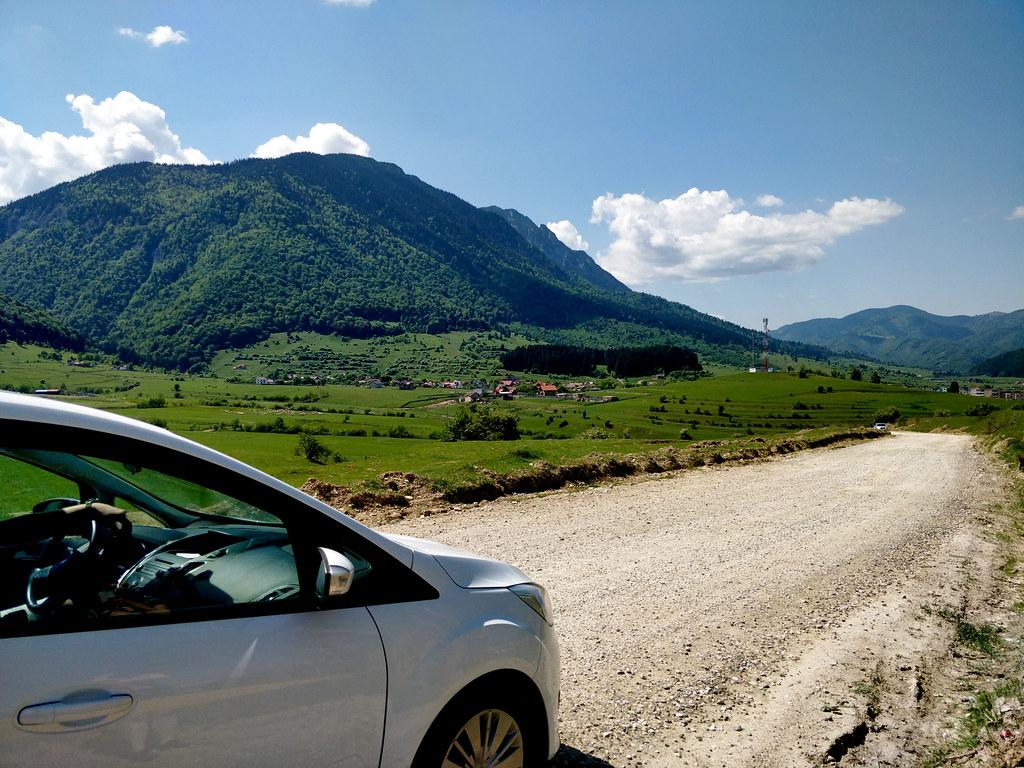 Romania Transilvania autolla