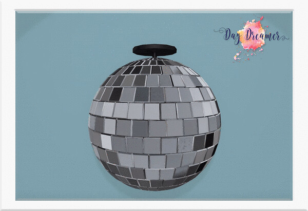 Day Dreamer – Scripted Disco Ball