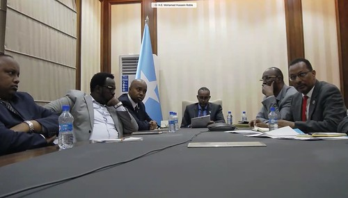 International partners e-meet with Somali Prime Minister on elections – 27 December 2020 | by UNSomalia