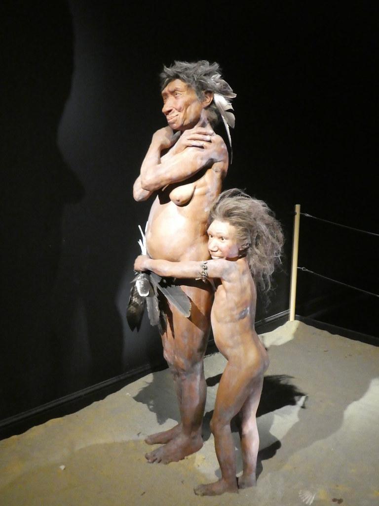 Models of Neanderthal Man, Gibraltar National Museum