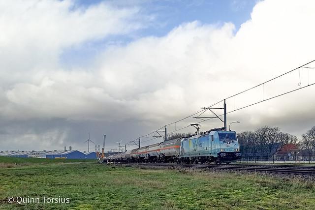 HSL Waverider naar Sloe, 24 dec.