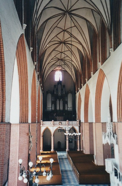 Cathédrale gothique, XIVe siècle, Kwidzyn, voïvodie de Poméranie, Pologne