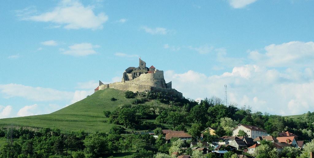 Romania Rasnovin linna