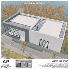 Atelier Burgundy . AB Modular Store