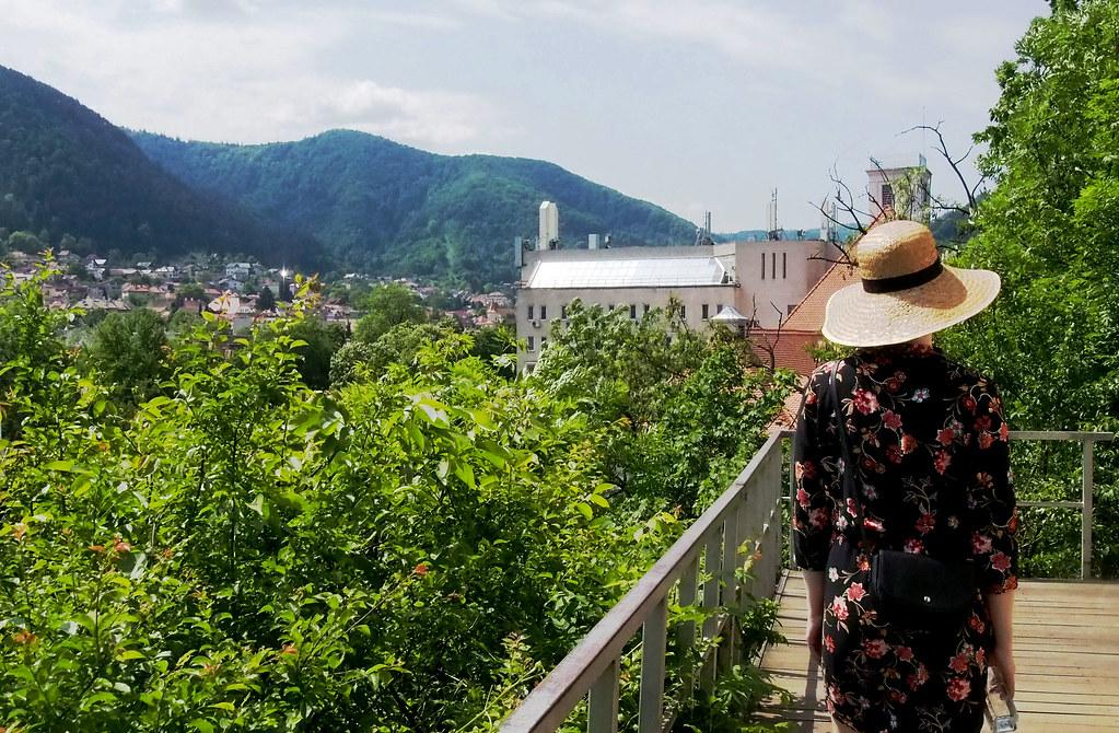 Brasov musta torni näköalapaikka