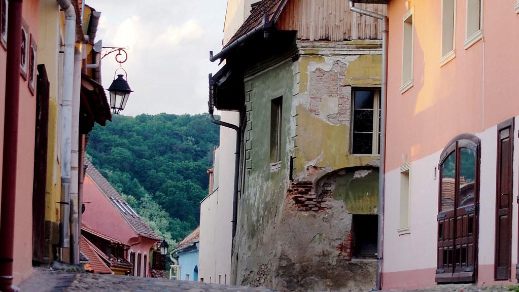 Romania värikäs Sighisoara