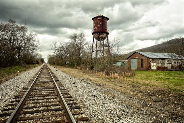 Across The Tracks (in explore)