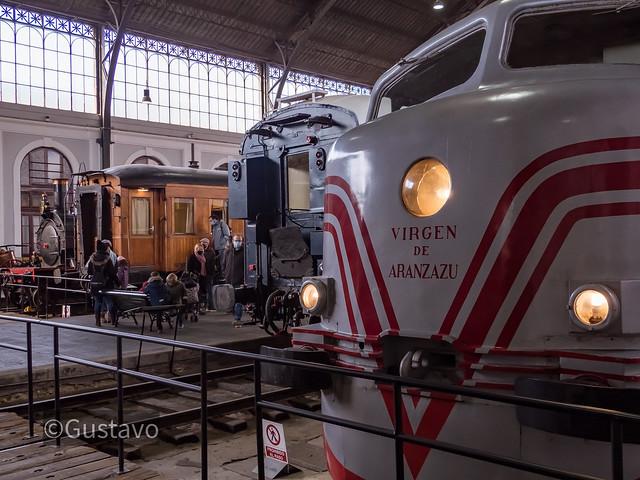 Museo del Ferrocarril , estación de Delicias , Madrid