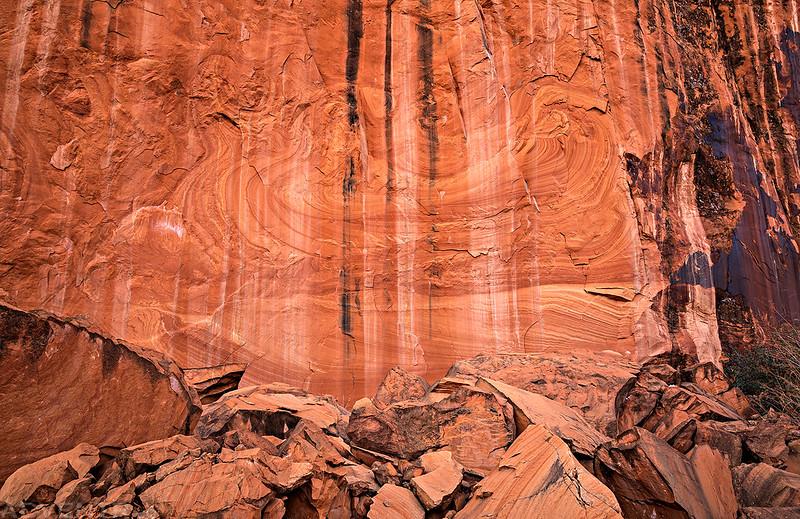 Wall Swirls & Stripes