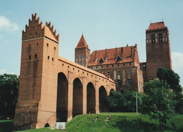 Château médiéval de Kwidzyn (XIVe siècle), voïvodie de Poméranie, Pologne