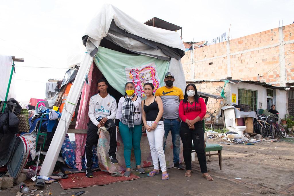 Venezuela A family of Venezuelan recyclers in Colombia. Keoma Zec