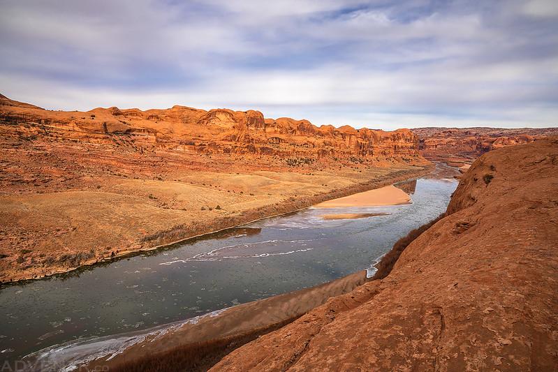 Icy Colorado River