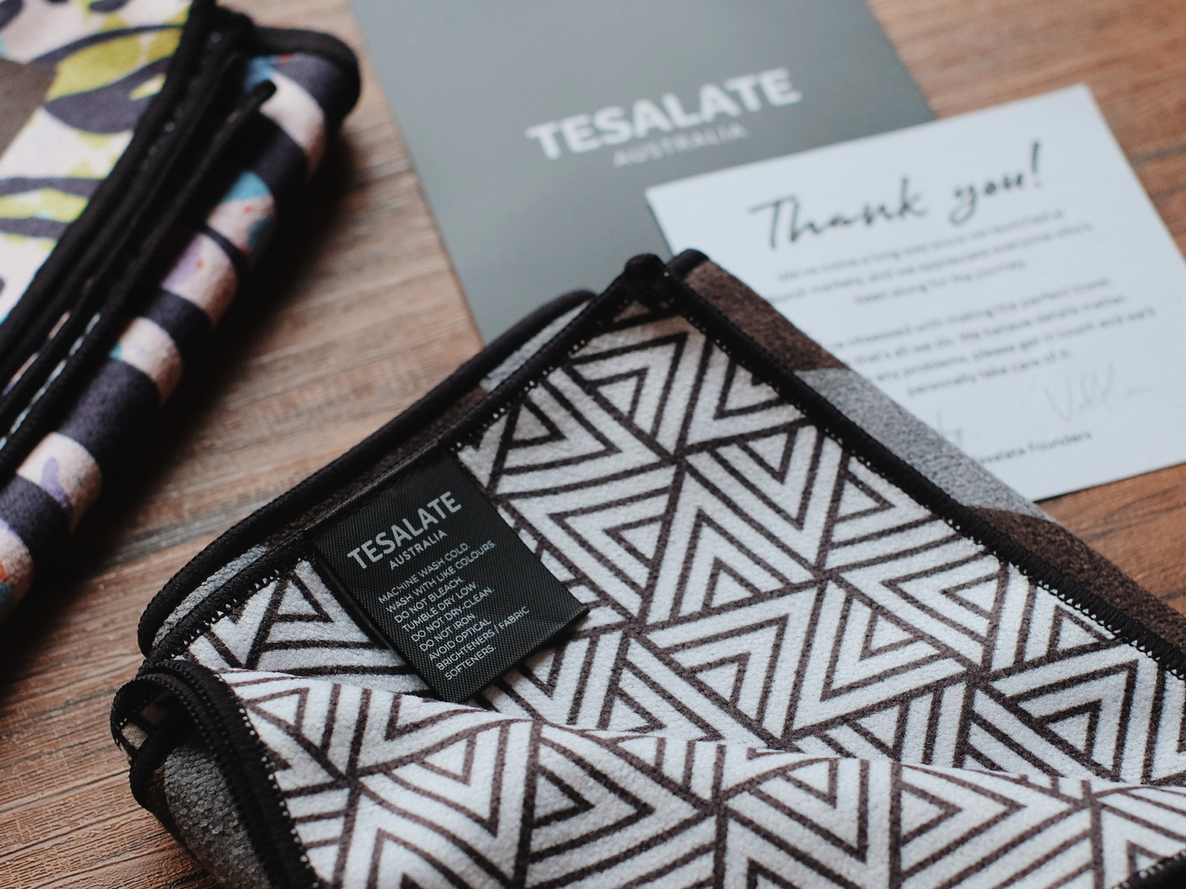 Tesalate Anti-Bacterial Workout Towels Review