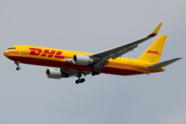 G-DHLH | Boeing 767-3JHFER/W | DHL
