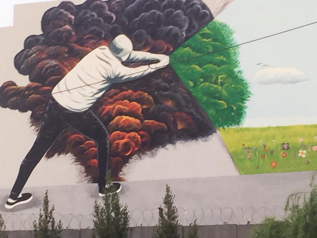 Graffiti in Herat, Afghanistan. CRISISGROUP/Pierre Prakash