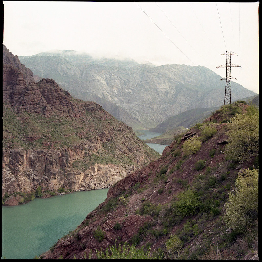 A hydropower dam in the mountains of Kyrgyzstan in 2016. CRISISGROUP/Julie David de Lossy