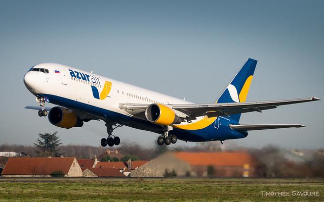 CDG | Azur Air Boeing 767-300ER | VP-BRA