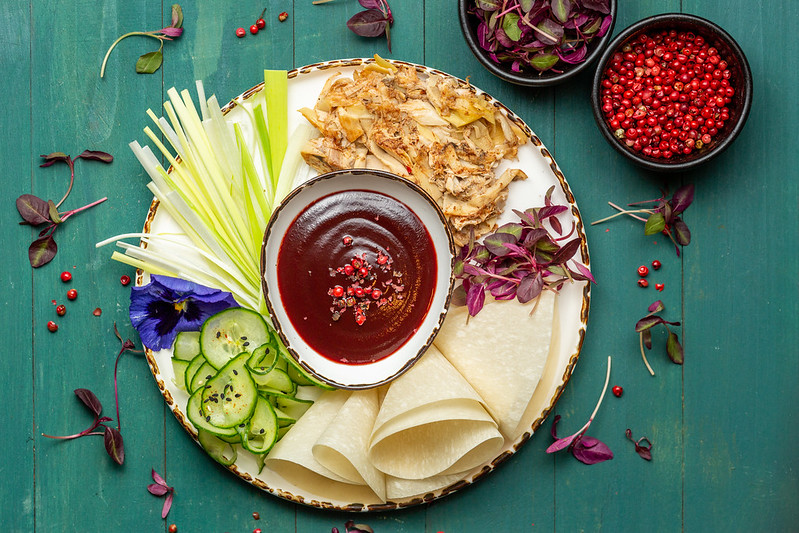 What are the top trends for Veganuary 2021: Stem & Glory Pulled Mushroom 'Duck' Pancakes