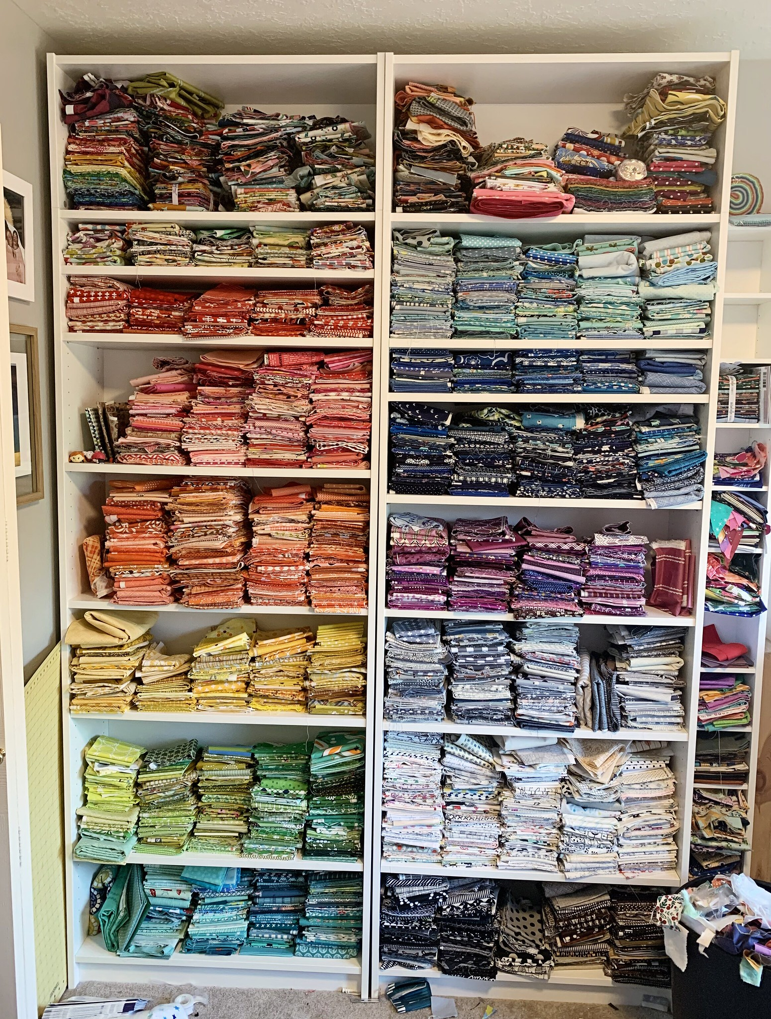 Fabric Stash - Kitchen Table Quilting