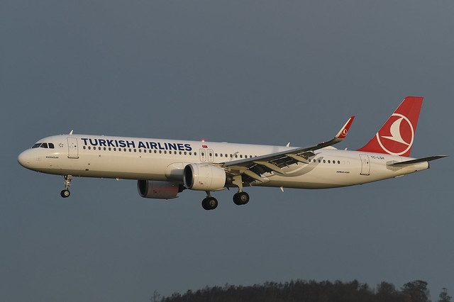 TC-LSH Airbus A321-271NX EGPH 28-12-20