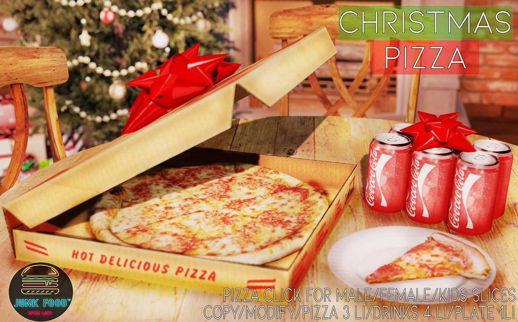 Junk Food – Christmas Pizza Set