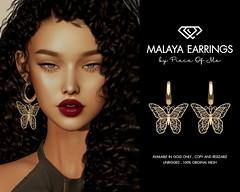 Malaya Earrings @Mainstore & MP