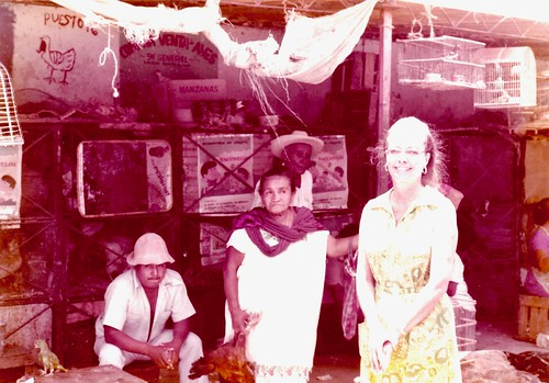 Merida, Yucatan 1975 - Madre en el Mercado