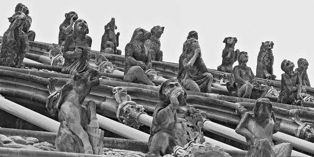 Gargoyles of Notre Dame, Dijon
