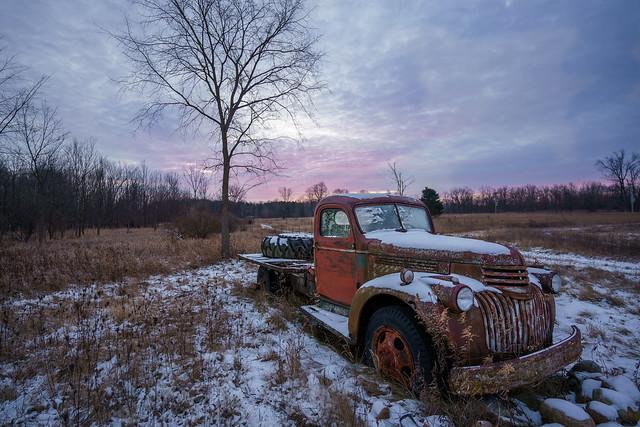 Winter Sunrise and Rust (Explore 12.29.20)