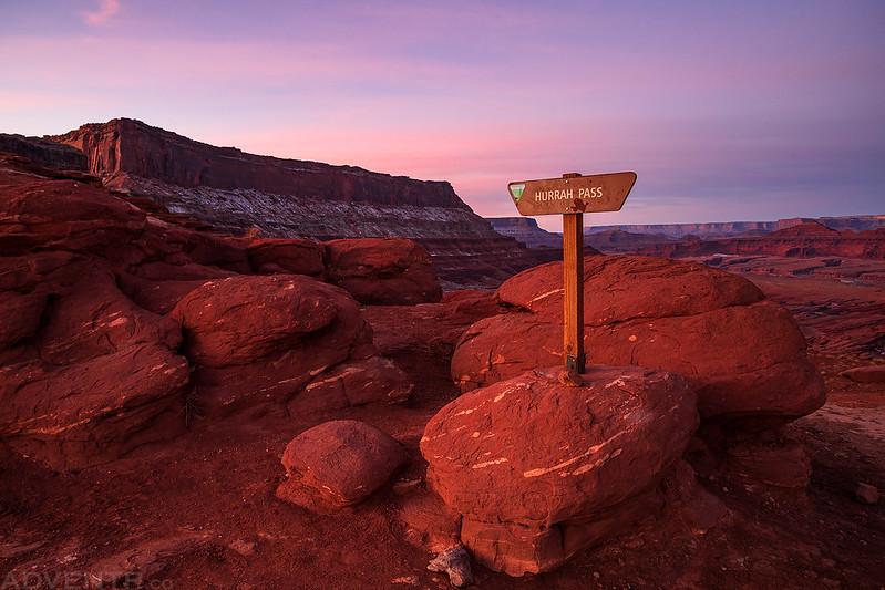 Hurrah Pass Sign