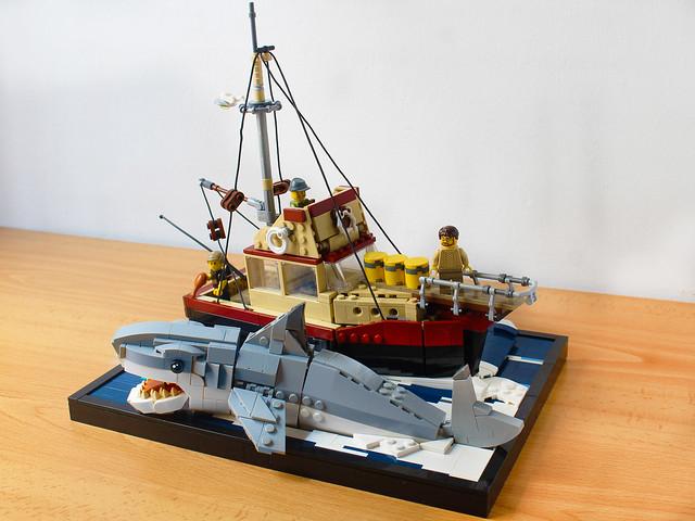 Lego JAWS diorama (IT'S ON LEGO IDEAS!!!)