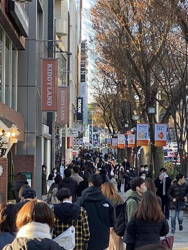 表参道 混雑 2020/12/27