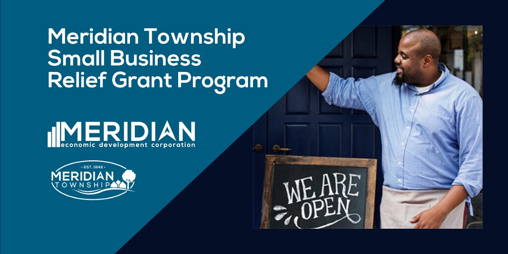 Meridian Township Offers Second Round of Small Business Relief Grants