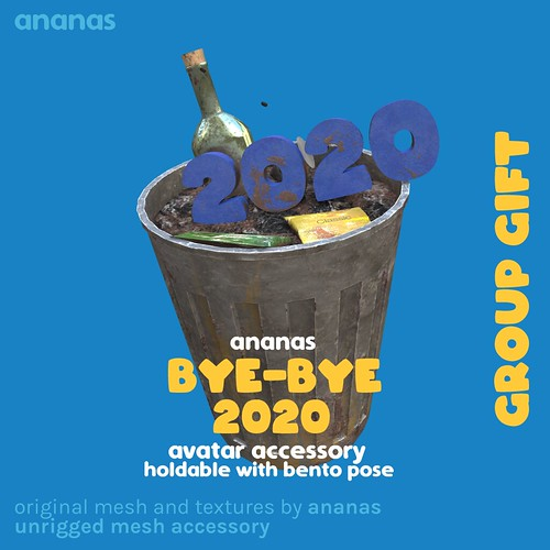 Say farewell to this year with Ananas' newest group gift, Bye-Bye 2020!