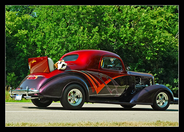 Rumble Seat Hot Rod With Interloper