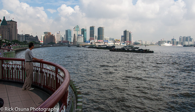 The Bund (Waitan) - western bank of Huangpu River.jpg