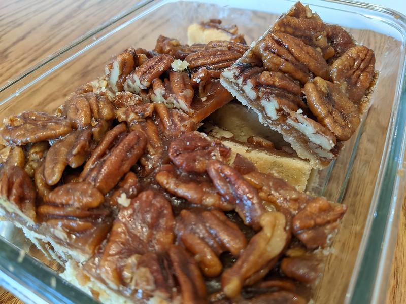 Ultranutty Pecan Bars