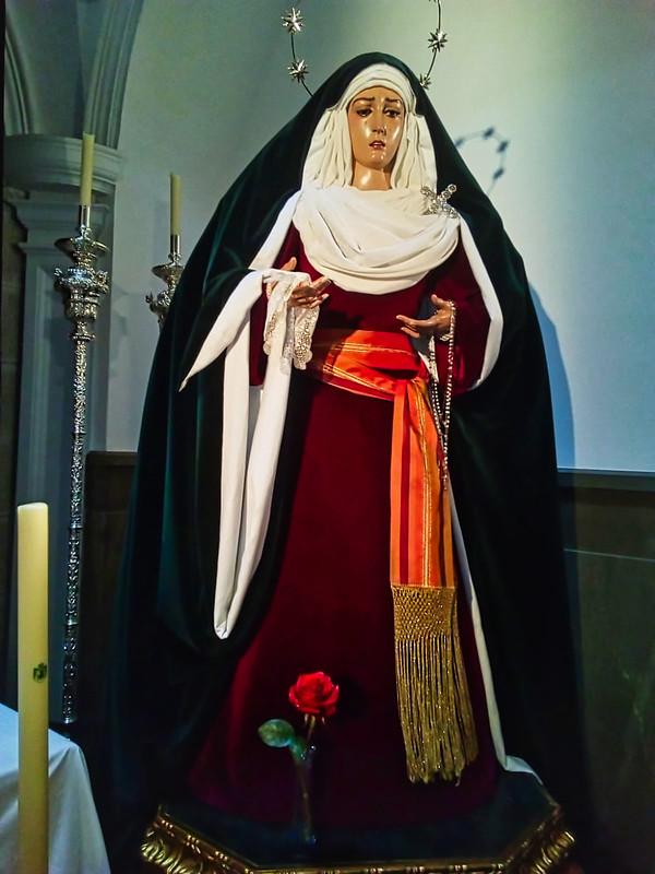 Ntra. Sra. de la Esperanza, de hebrea.