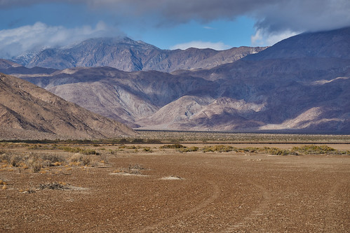 Towards the snow-capped Santa Rosa mountains