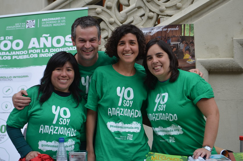 Voluntarios y sensibilización