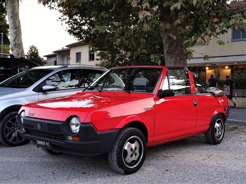 1984 Fiat Ritmo Super 85 Cabriolet Bertone