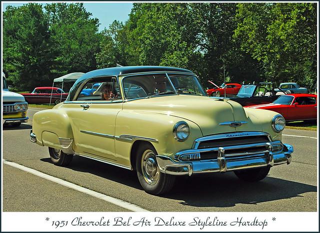 1951 Chevrolet Bel Air Deluxe Styleline Hardtop